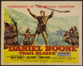 "Movie Posters:Adventure, Daniel Boone, Trail Blazer (Republic, 1956). Half Sheet (22"" X28""). Adventure.. ..."