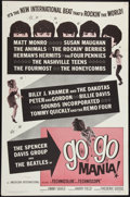 "Movie Posters:Rock and Roll, Go Go Mania (American International, 1965). One Sheet (27"" X 41"").Rock and Roll.. ..."