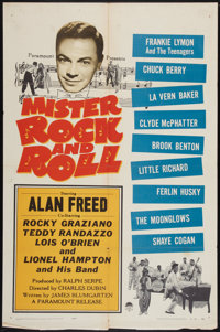 """Mister Rock and Roll (Paramount, 1957). One Sheet (27"""" X 41""""). Rock and Roll"""