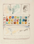 American:Modern, ROBERT ANDREW PARKER (American, b. 1927). Student's WatercolorBox, 1969. Watercolor on paper. 14 x 11 inches (35.6 x 27...