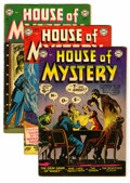 Silver Age (1956-1969):Horror, House of Mystery Group (DC, 1953) Condition: Average VG.... (Total:7 Comic Books)