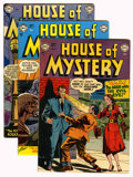 Silver Age (1956-1969):Horror, House of Mystery Group (DC, 1952-53).... (Total: 7 Comic Books)
