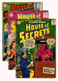 Silver Age (1956-1969):Mystery, House of Secrets (DC, 1957-58).... (Total: 9 Comic Books)