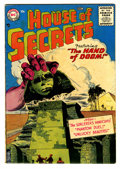 Silver Age (1956-1969):Horror, House of Secrets #1 (DC, 1956) Condition: VG....