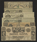 Obsoletes By State:Louisiana, What Are A Civil War State Note, Three Postbellum Baby Bonds, and Two Louisiana Obsoletes?. ... (Total: 6 items)
