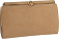 "Luxury Accessories:Bags, Gucci 1960's Beige Matte Lizard Classic Frame Clutch Bag, 7"" x 4"" x1.5"", Good Condition. ..."