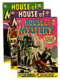 Silver Age (1956-1969):Horror, House of Mystery Group (DC, 1954-56).... (Total: 19 Comic Books)