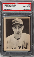 Baseball Cards:Singles (1930-1939), 1939 Play Ball Joe DiMaggio #26 PSA EX-MT 6....