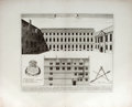 "Antiques:Posters & Prints, Guil. Williams. Architectural Engraving Entitled: ""Aula St.Edmundi""...."