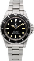 Timepieces:Wristwatch, Rolex Ref. 5513 Vintage Submariner, circa 1967. ...