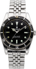 "Timepieces:Wristwatch, Rolex Ref. 6536/1 ""James Bond"" Submariner, circa 1956. ..."