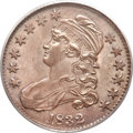 Bust Half Dollars, 1832 50C Small Letters MS64+ PCGS. CAC. O-110, R.1....