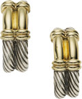Estate Jewelry:Earrings, Gold, Sterling Silver Earrings, David Yurman. ...