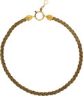 Estate Jewelry:Other , Victorian Gold Watch Chain. ...