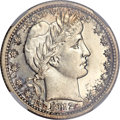 Proof Barber Quarters, 1912 25C PR67 ★ NGC....