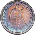 Proof Seated Quarters, 1887 25C PR67 NGC....