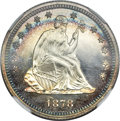 Proof Seated Quarters, 1878 25C PR67 Cameo NGC....