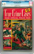Golden Age (1938-1955):Crime, True Crime Cases #nn (St. John, 1951) CGC FN+ 6.5 Cream to off-white pages....