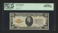 Fr. 2402 $20 1928 Gold Certificate. PCGS About New 50PPQ