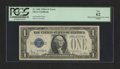 Error Notes:Obstruction Errors, Fr. 1601 $1 1928A Silver Certificate. PCGS New 62.. ...