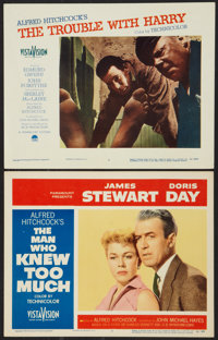 "The Man Who Knew Too Much Lot (Paramount, 1956). Lobby Cards (2) (11"" X 14""). Hitchcock. ... (Total: 2 Items)"