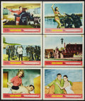 "Movie Posters:James Bond, Thunderball (United Artists, 1965). Lobby Cards (6) (11"" X 14"").James Bond.. ... (Total: 6 Items)"