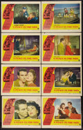 "Movie Posters:Drama, A Place In The Sun (Paramount, 1951). Lobby Card Set of 8 (11"" X 14""). Drama.. ... (Total: 8 Items)"