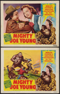 "Movie Posters:Horror, Mighty Joe Young (RKO, 1949). Lobby Cards (2) (11"" X 14""). Horror.. ... (Total: 2 Items)"