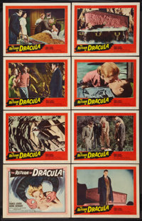 "The Return of Dracula (United Artists, 1958). Lobby Card Set of 8 (11"" X 14""). Horror. ... (Total: 8 Items)"