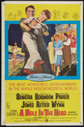 """Movie Posters:Comedy, A Hole in the Head (United Artists, 1959). One Sheet (27"""" X 41"""") and Lobby Card Set of 8 (11"""" X 14). Comedy.. ... (Total: 9 Items)"""