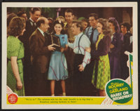 "Babes on Broadway (MGM, 1941). Autographed Lobby Card (11"" X 14""). Musical"