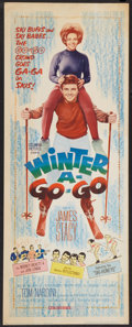 "Movie Posters:Comedy, Winter A-Go-Go (Columbia, 1965). Insert (14"" X 36""). Comedy.. ..."