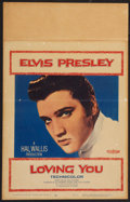 "Movie Posters:Elvis Presley, Loving You (Paramount, 1957). Window Card (14"" X 22""). ElvisPresley.. ..."