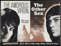 "Sweet Smell of Love/ The Other Sex Combo (Unknown, 1966). British Quad (30"" X 40"") Also Known as ""The Amo..."