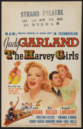 """Movie Posters:Musical, The Harvey Girls (MGM, 1946). Window Card (14"""" X 22""""). Musical.. ..."""