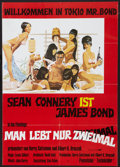 "Movie Posters:James Bond, You Only Live Twice (UIP, R-1980s). German A1 (23.25"" X 33""). JamesBond.. ..."