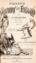 Books:First Editions, O. P. Q. Philander Smiff. Figaro's History of England....