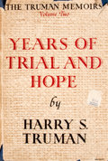 Books:Non-fiction, Harry S. Truman. Years of Trial and Hope. 1946-1953....