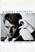Books:Signed Editions, Evan Thomas. INSCRIBED. Robert Kennedy. His Life....