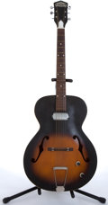 Musical Instruments:Electric Guitars, 1950s Truetone N-2 Sunburst Archtop Electric Guitar #L3050 ...
