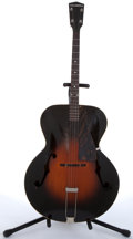 Musical Instruments:Acoustic Guitars, Vintage Cromwell By New York Instrument Co. Tenor Sunburst ArchtopAcoustic Guitar # N/A....