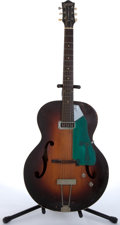 Musical Instruments:Electric Guitars, 1955 Gretsch 6182 Electromatic Sunburst Archtop Electric Guitar #12746....