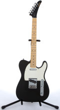 Musical Instruments:Electric Guitars, 1992 Epiphone T-310 Black Electric Guitar # S2061279....