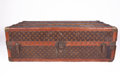Early 1900's Louis Vuitton Classic Monogram Wardrobe Steamer Trunk