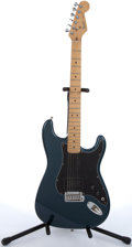 Musical Instruments:Electric Guitars, Mid 1980's Fender American Stratocaster Midnight Blue ElectricGuitar # E485940....