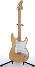 Musical Instruments:Electric Guitars, 1996 Fender Stratocaster Natural Electric Guitar #U012204....