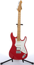 Musical Instruments:Electric Guitars, 2000s Aria Pro II Fullerton Red Electric Guitar #5006861....