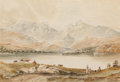 Works on Paper, ANTHONY VANDYKE COPLEY FIELDING (British, 1787-1855). Loch Awe, Scotland. Watercolor and pencil on paper. 13 x 9 inches ...