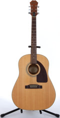 Musical Instruments:Acoustic Guitars, 2000 Epiphone AJ-15 Natural Acoustic Guitar #Z00031104....
