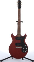 Musical Instruments:Electric Guitars, 1965 Gibson Melody Maker Cherry Electric Guitar #328199....